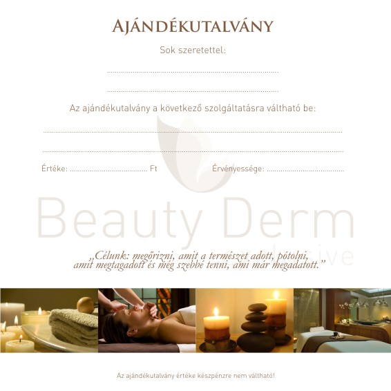 Beauty Derm Kozmetika, IPL, Mezoterápia, Lézeres Mezoterápia, Exclusive Kozmetika, Professzionális Kozmetika, Kozmetika, Szolárium, Gyanta, Elektroporáció, Elektrokozmetika, Ajándékutalvány, Szőrtelenítés, Tartós szőrtelenítés, Végleges szőrtelenítés, IPL végleges tartós szőrtelenítés, Maszázs, Hydroabrázió, Mikrodermabrázió, Gyémántfejes mikrodermabrázió, Vio, Frimátor, Dr Derm, Mezo I Laser, Yellow Rose, AA Prestige, Alla Natura, AHA-savas, Beta-Hydroxy sav, Hámlasztás, Mélyhámlasztás, Microforézis, Iontoforézis, Micromasszázs, Fülbelövés, Füllyukasztás, Aranykezelés, Arcápolás, Arctisztítás, Festés, Kézápolás, Rosacea, Acne